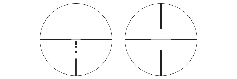 BDC or Nikoplex Reticles