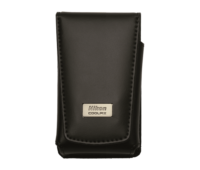 Photo of  COOLPIX Vertical Black Leather Case