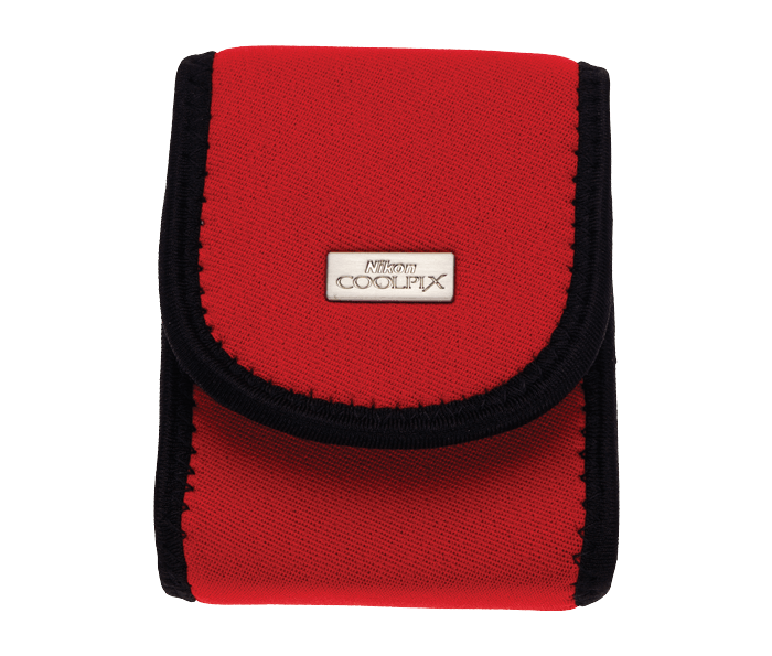 Photo of  COOLPIX Neoprene Red Case