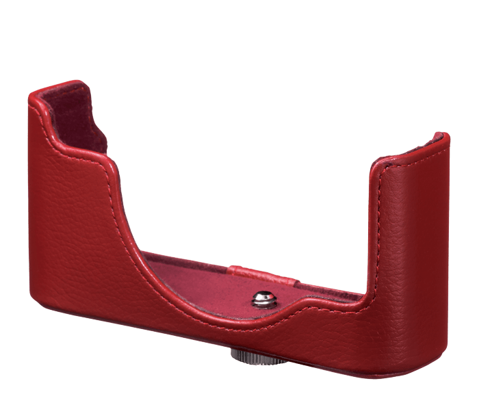 Photo of  CB-N2000 Red Leather Body Case