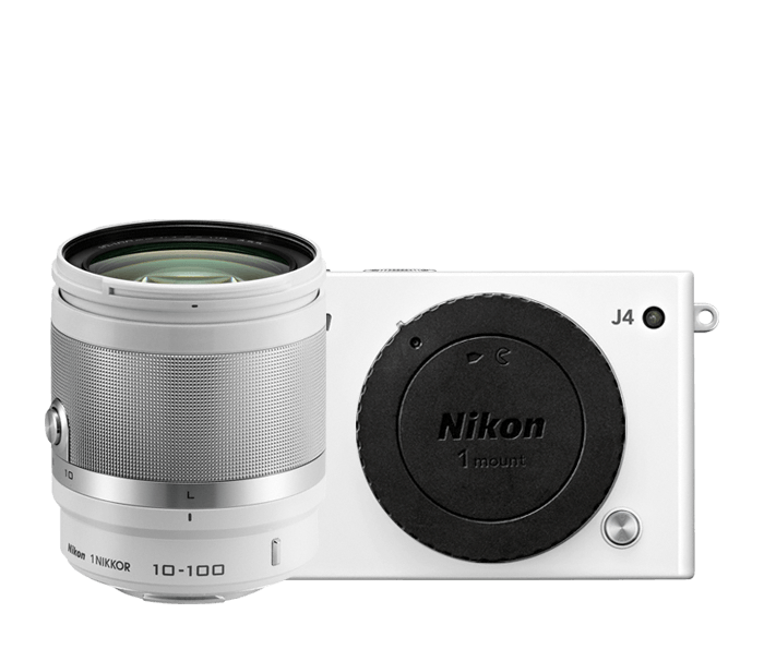 Photo of Nikon 1 J4 All-In-One Lens Kit White