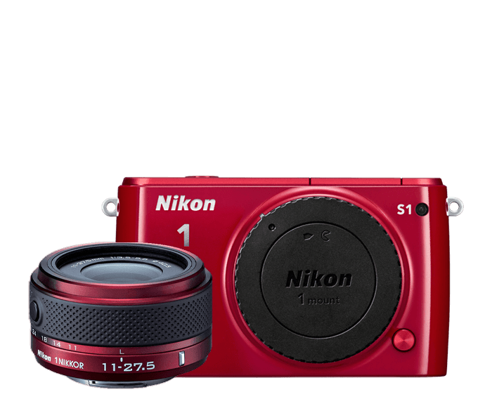 Photo of Nikon 1 S1 One-Lens Kit Red