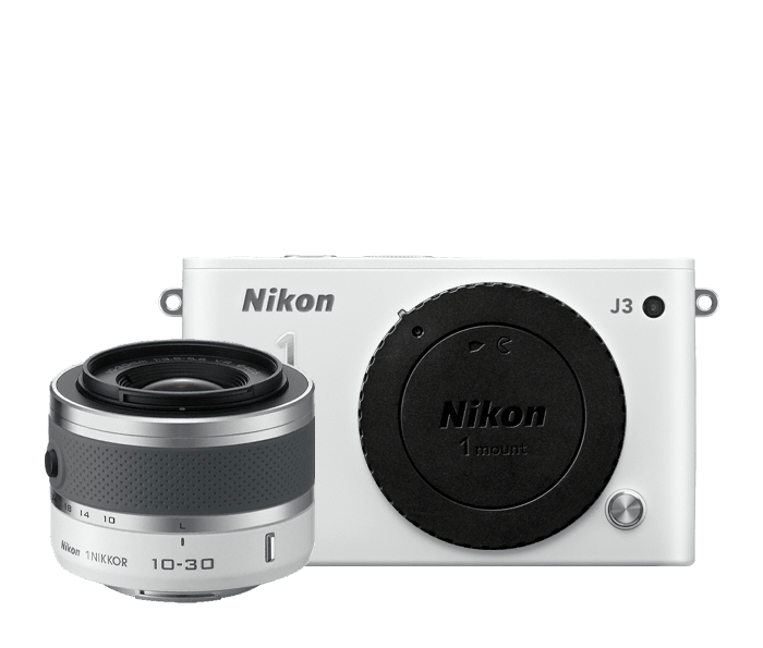 Photo of Nikon 1 J3 One-Lens Kit White