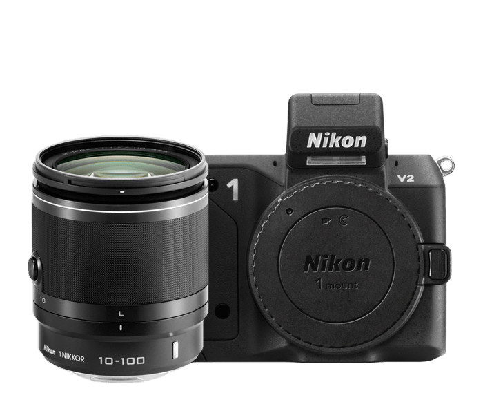 Photo of Nikon 1 V2 All-In-One Lens Kit Black
