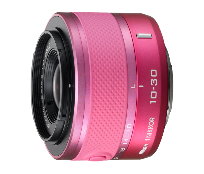 Photo of  1 NIKKOR<br/> VR 10-30mm f/3.5-5.6 Pink (J2)