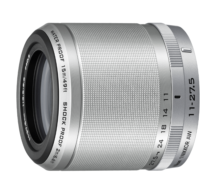Photo of  1 NIKKOR<br/> AW 11-27.5mm f/3.5-5.6 Silver