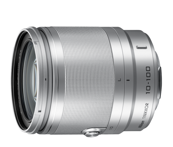Photo of  1 NIKKOR<br/> 10-100mm f/4.0-5.6 VR Silver