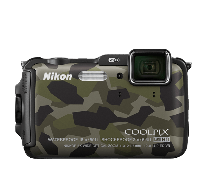 Photo of  COOLPIX AW120 Camouflage