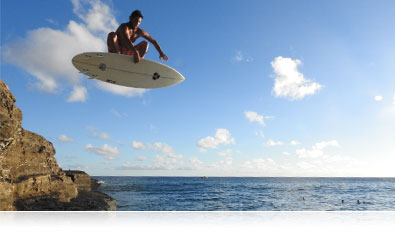 COOLPIX P900 photo of a surfer in air over the water