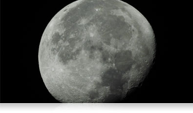 COOLPIX P900 photo of the moon close up