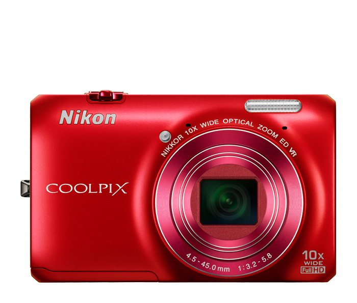 Photo of  COOLPIX S6300 Red