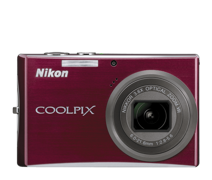 Photo of  COOLPIX S710 Deep Red