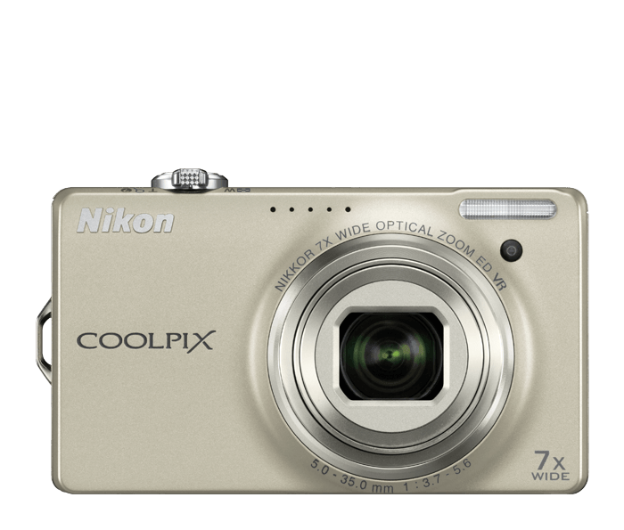 Photo of  COOLPIX S6000 Champagne Silver