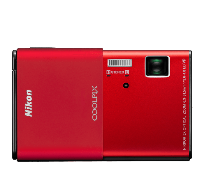Photo of  COOLPIX S80 Red