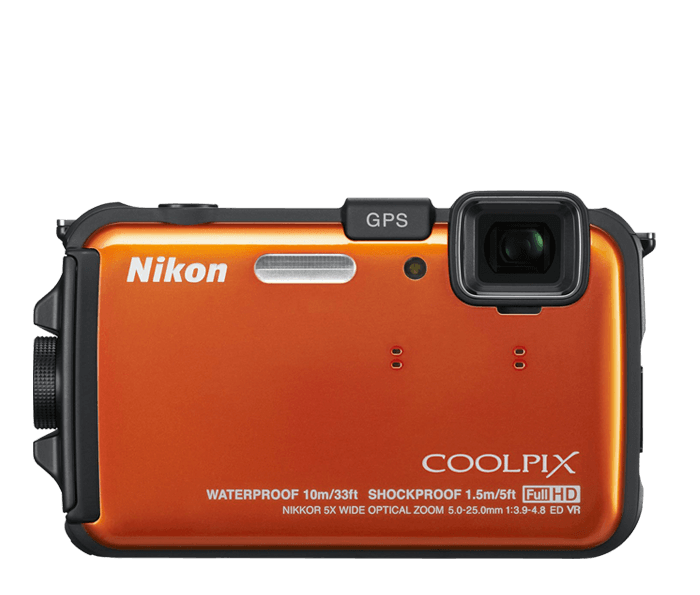 Photo of  COOLPIX AW100 Orange