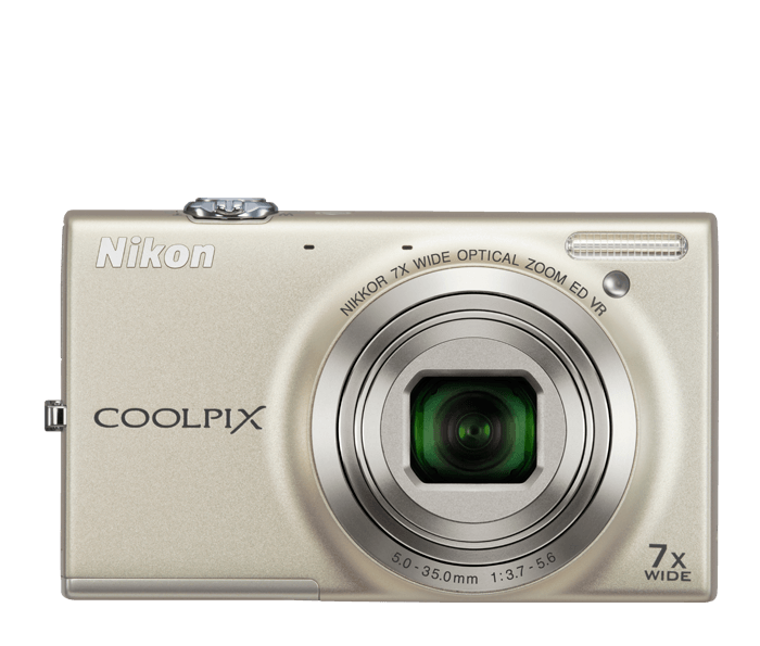 Photo of  COOLPIX S6100 Silver