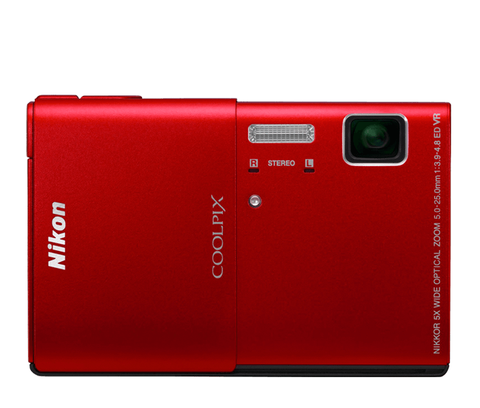 Photo of  COOLPIX S100 Red