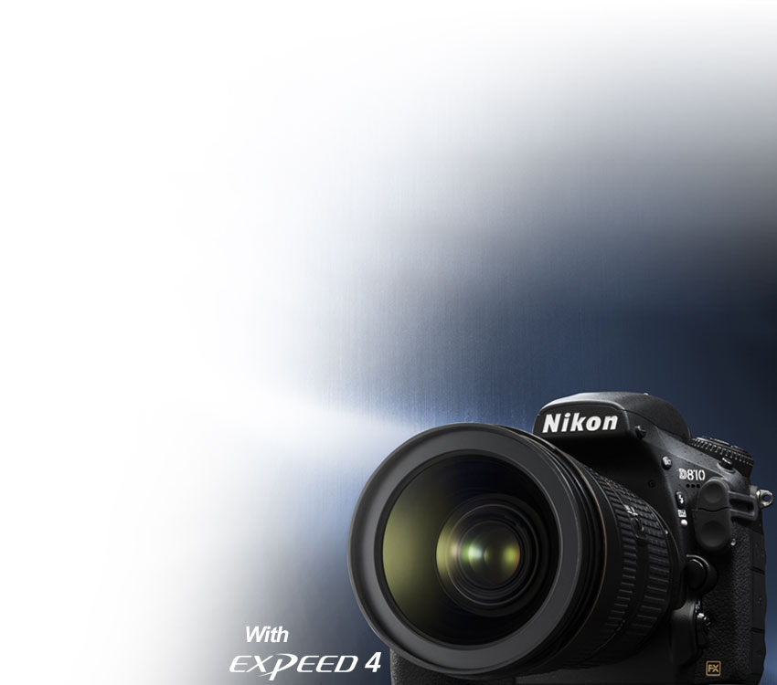 Product photo of the Nikon D810 DSLR