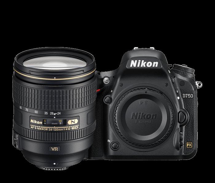 D750 24-120mm VR Lens Kit