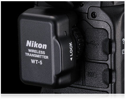 Nikon's WT-5A Wireless Transmitter quickly transfers files and offer a new level of remote control