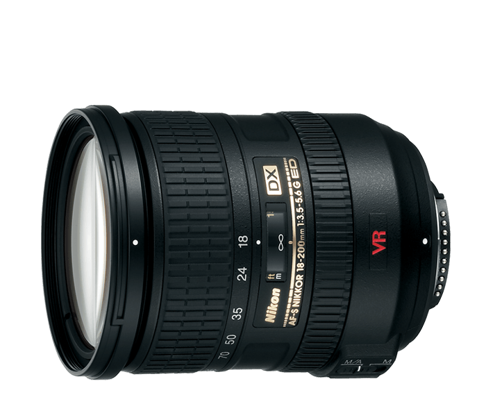 AF-S DX VR Zoom-NIKKOR<br/> 18-200mm f/3.5-5.6G IF-ED