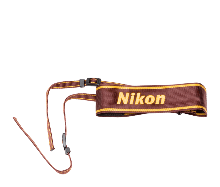 Photo of  AN-6W Nylon Wide Neck Strap (Wine)