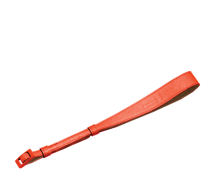 Photo of  AH-N1000 Orange Leather Hand Strap