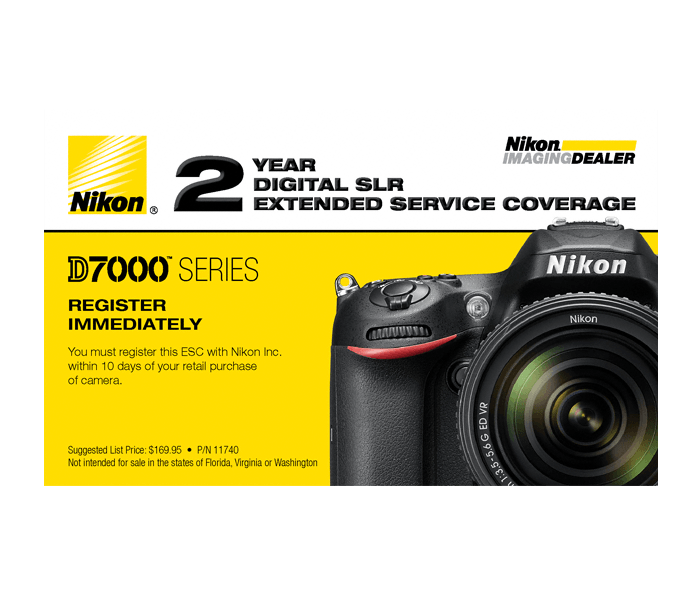 Photo of D7000 Series Extended Service Coverage (2 Years)