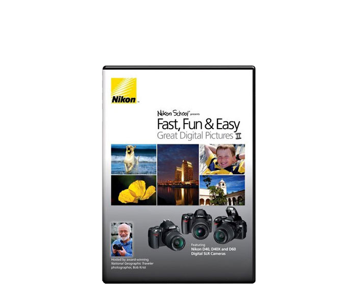 Photo of  Fast, Fun & Easy: Great Digital Pictures DVD II