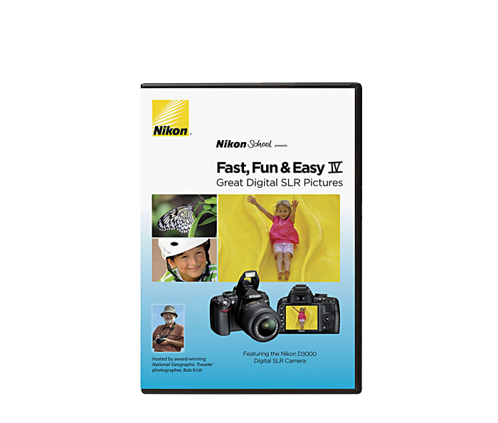 Photo of  Fast, Fun & Easy IV Featuring the Nikon D3000 D-SLR