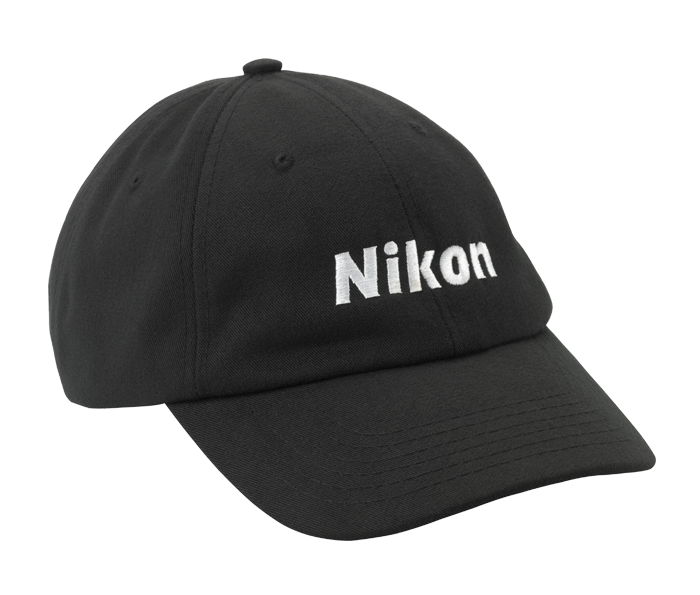 Black Rpet Baseball Hat From Nikon