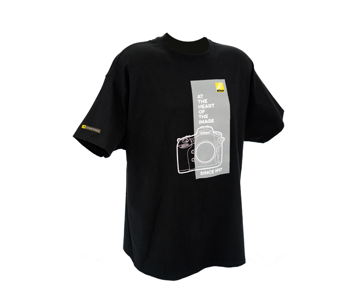Photo of At the Heart of the Image Black T-Shirt Medium