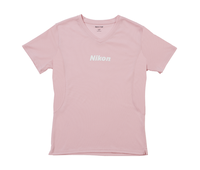 Photo of Women's Pink V-Neck T-Shirt