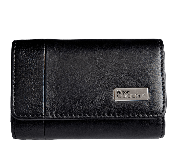 Photo of  COOLPIX Black Leather Horizontal Case