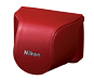 option for CB-N2000SE Red Leather Body Case Set