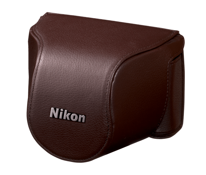 Set d'étui de protection CB-N2000SC en cuir marron