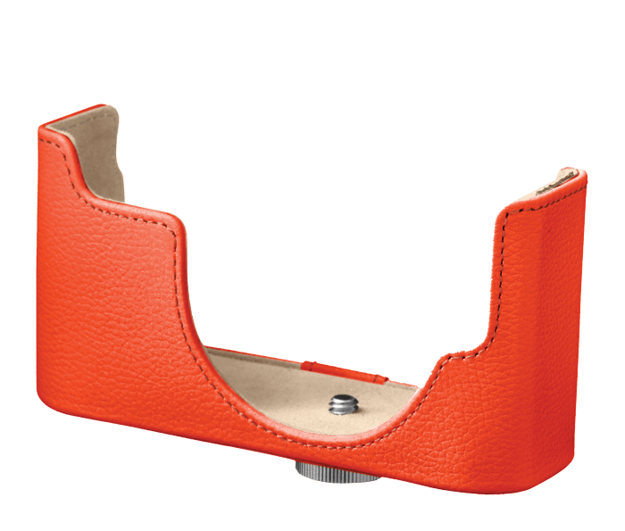 Photo of CB-N2000 Orange Leather Body Case