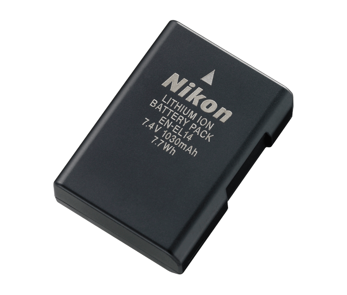 Accumulateur Li-ion rechargeable EN-EL14