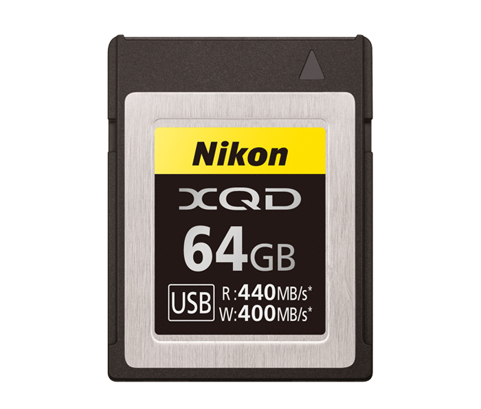 Photo of Nikon XQD 64GB Memory Card