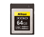 option for Nikon XQD 64GB Memory Card