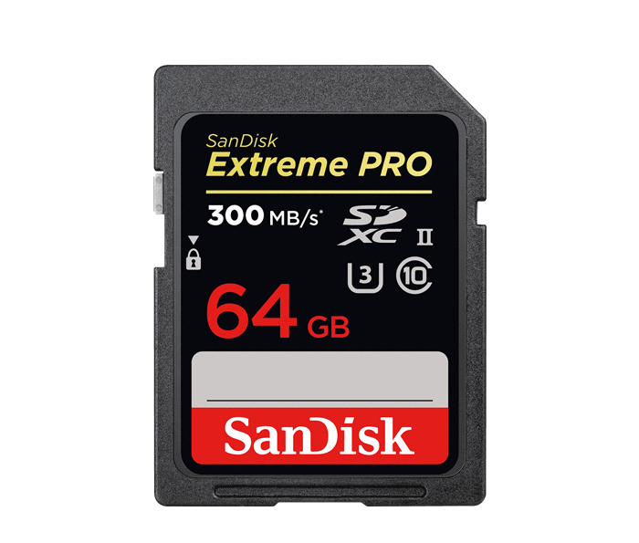 Photo of SanDisk Extreme Pro SD UHS-II Card