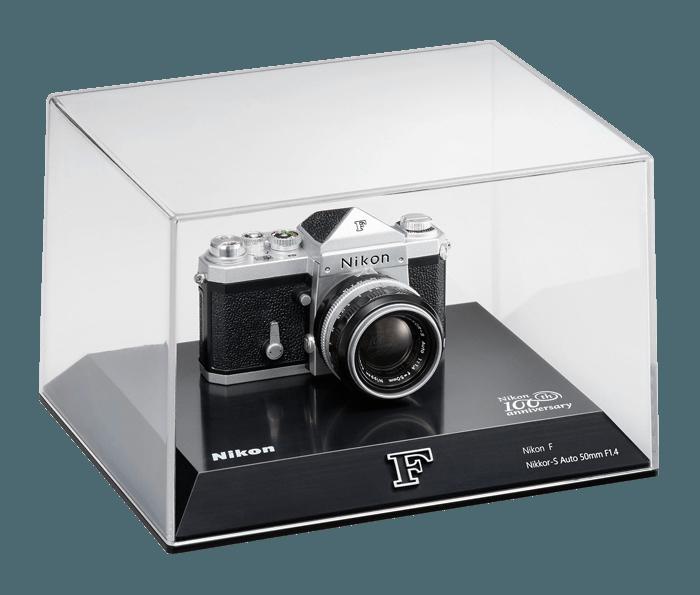 Photo of Nikon 100th Anniversary Miniature Nikon F Camera