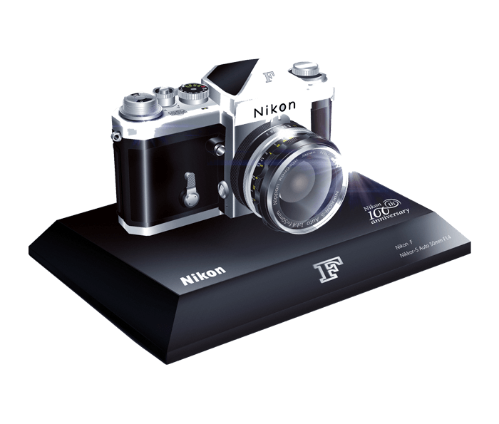 Photo of Nikon 100th Anniversary Miniature Nikon F Camera