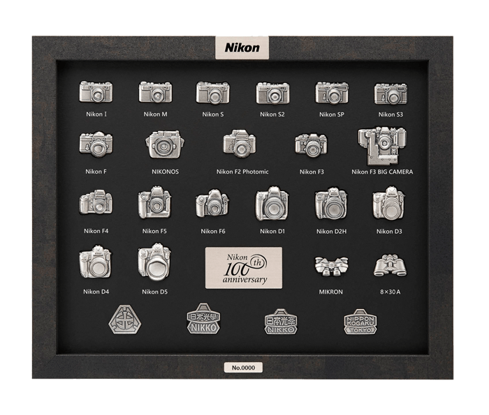 Photo of Nikon 100th Anniversary Pin Collection