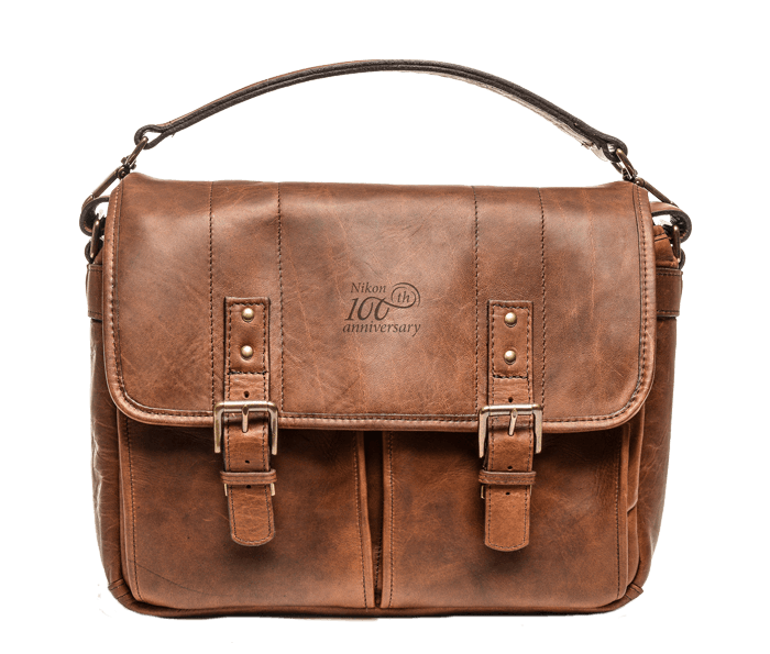 Photo of  Nikon 100th Anniversary Premium Leather Bag