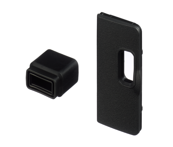 Photo of UF-3 Connector Cover for stereo mini plug cable