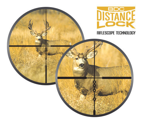 BDC DISTANCE LOCK RIFLESCOPE TECHNOLOGY
