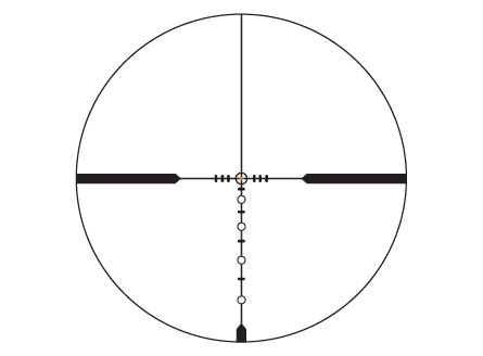 Illuminated BDC SuperSub Reticle