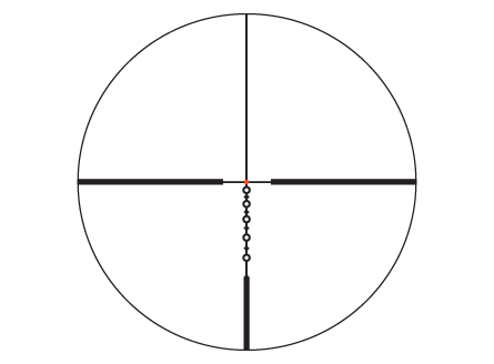 Illuminated BDC 600 Reticle