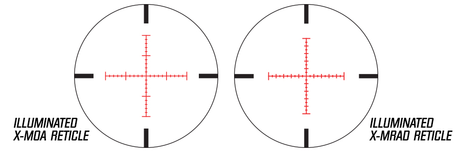 Nikon's Illuminated X-MOA and X-MRAD Reticles